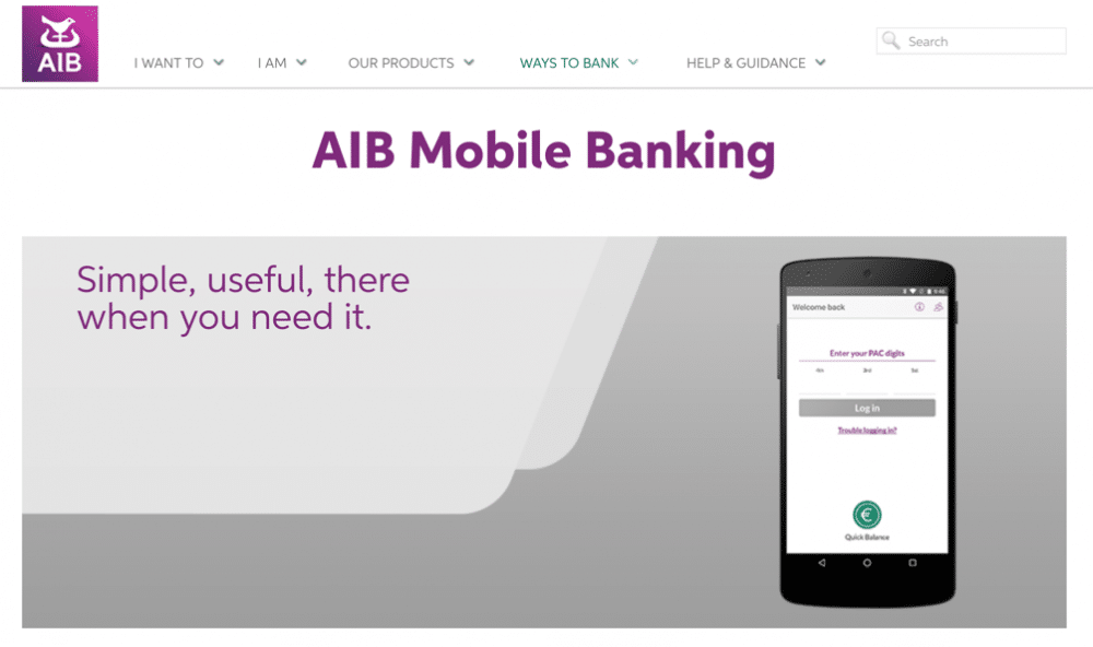 InterAccess are working on mobile app accessibility testing for AIB
